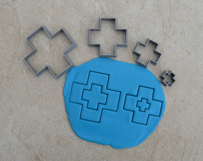 Cross V2 Polymer Clay Cutter Set Cookie Fondant Cutters