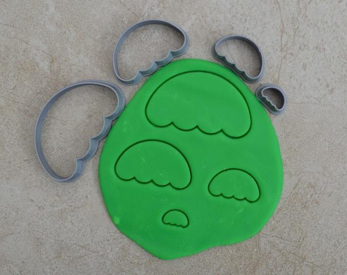 Umbrella Shape Polymer Clay Cutter Set Cookie Fondant Cutters