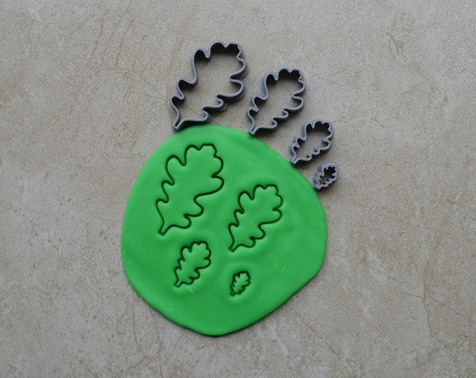 Leaf Polymer Clay Cutter Set Cookie Fondant Cutters