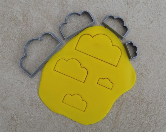 Cloud V2 Polymer Clay Cutter Set Cookie Fondant Cutters