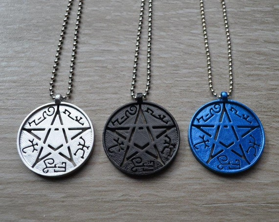 Devil's Trap - Necklace Pendant - Pentacle