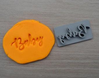 Baby Imprint Cookie/Fondant/Soap/Embosser Stamp