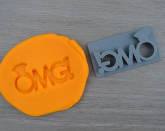 OMG! Imprint Cookie/Fondant/Soap/Embosser Stamp