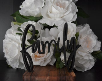Family Sign - Sweetheart Table Sign