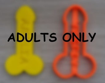 Penis Cookie Cutter Fondant Cutter Party Favor Custom/Personalised