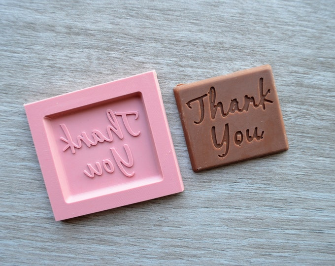 Thank You Silicone Mould Chocolate Candy Mould Mold