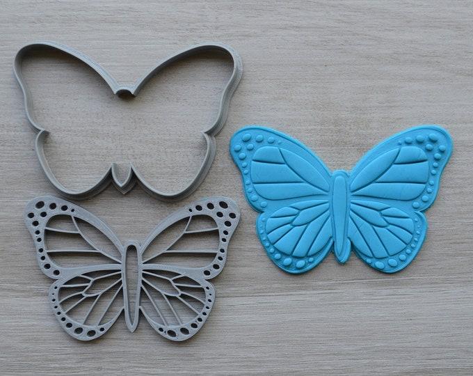 Butterfly Cookie Fondant Cutter & Stamp Fondant
