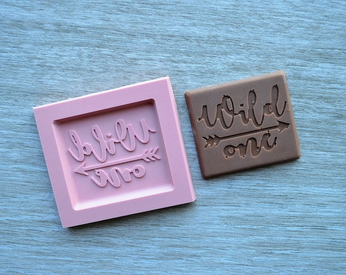 Wild One Silicone Mould Chocolate Candy Mould Mold