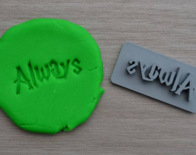 Always Imprint Cookie/Fondant/Soap/Embosser Stamp
