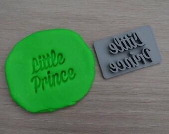 Little Prince Imprint Cookie/Fondant/Soap/Embosser Stamp