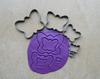 Butterfly Shape Polymer Clay Cutter Set Cookie Fondant Cutters