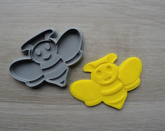 Bee Cookie Fondant Cutter & Stamp Fondant
