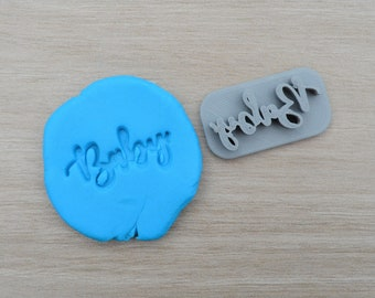 Baby Imprint 3.5cm Cookie/Fondant/Soap/Embosser Stamp