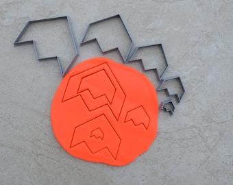 Arrow V2 Polymer Clay Cutter Set Cookie Fondant Cutters