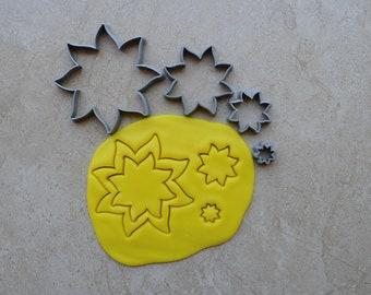 Sun Polymer Clay Cutter Set Cookie Fondant Cutters