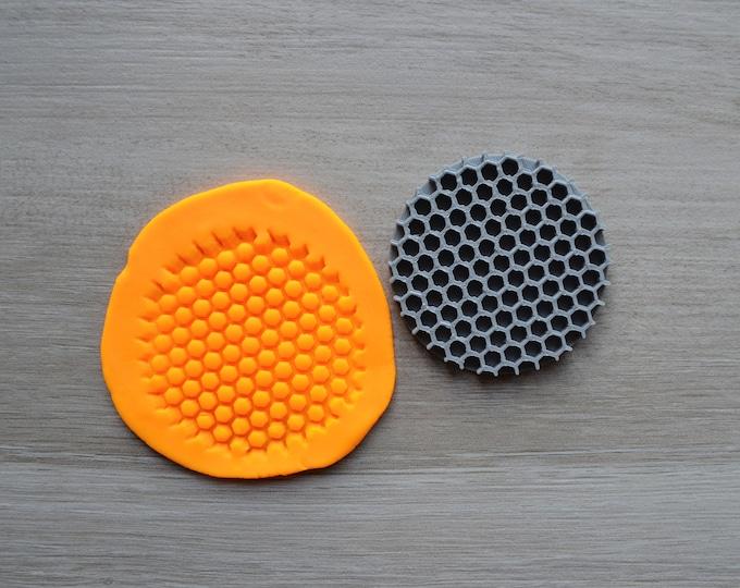 Honeycomb Outline Cookie Cutter Fondant Cutter