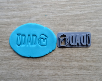 Dad Imprint Cookie/Fondant/Soap/Embosser Stamp