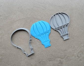 Hot Air Balloon Cookie Fondant Cutter & Stamp Fondant