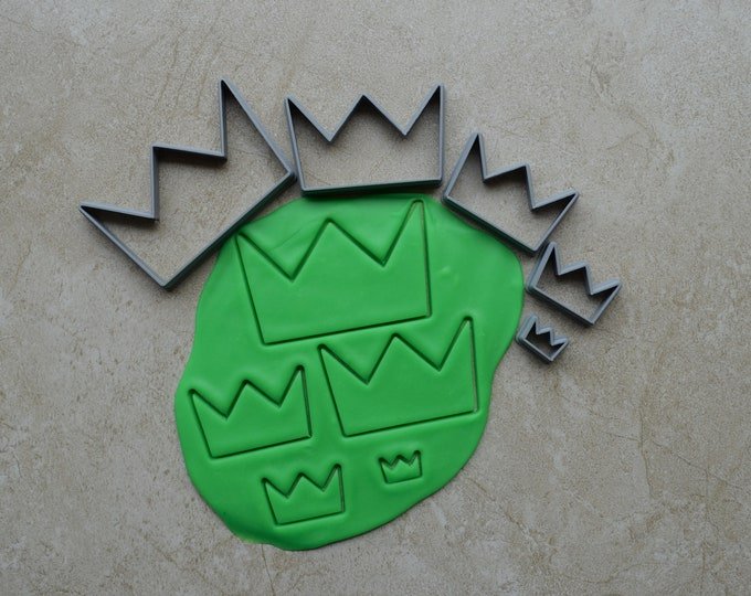 Crown Polymer Clay Cutter Set Cookie Fondant Cutters