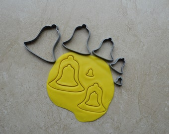 Bell Polymer Clay Cutter Set Cookie Fondant Cutters