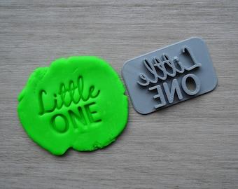 Little One Imprint Cookie/Fondant/Soap/Embosser Stamp
