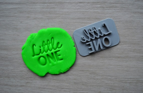 Little One Imprint Cookie/Fondant/Soap/Embosser Stamp