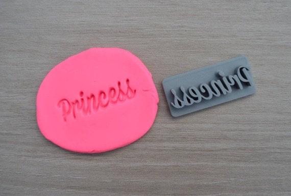 Princess Imprint Cookie/Fondant/Soap/Embosser Stamp