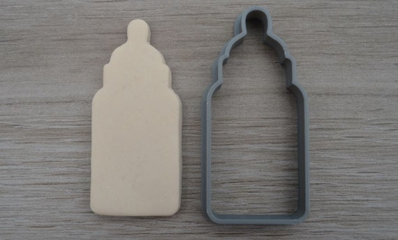 Baby Bottle Outline Cookie Cutter Fondant Cutter