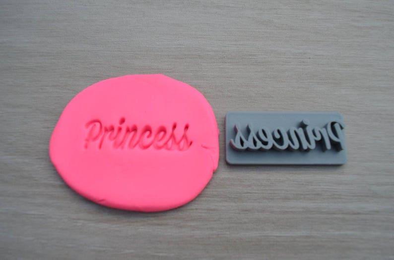 Princess Imprint CookieFondantSoapEmbosser Stamp