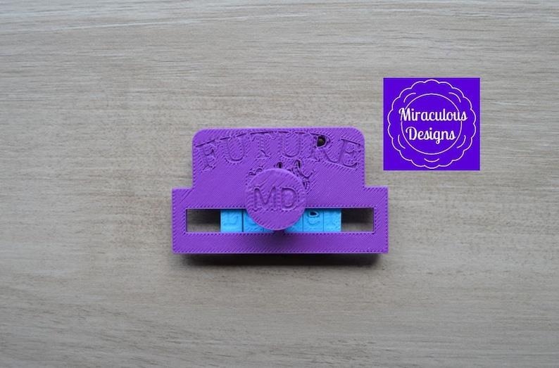 Future Mrs Name DIY StampHolder Imprint Wedding Engagement CookieFondantSoapEmbosser Stamp