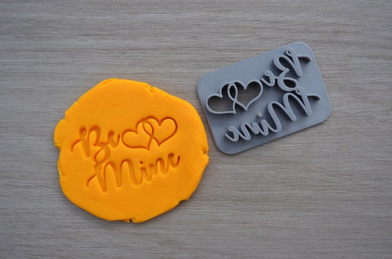 Be Mine Imprint Cookie/Fondant/Soap/Embosser Stamp