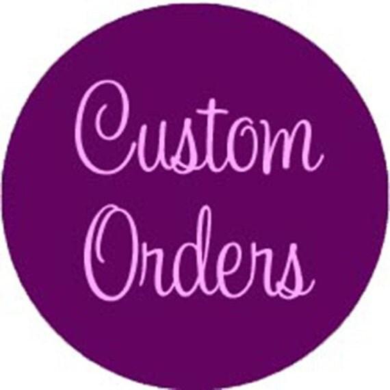 Custom listing for Jane Bilgoe
