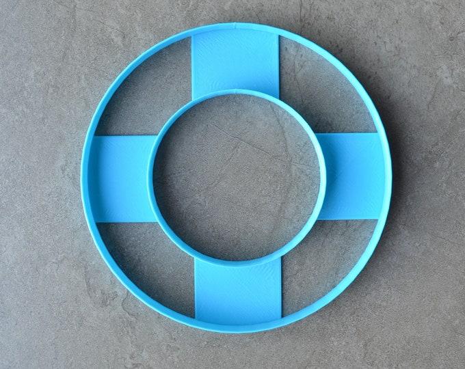 Wreath Cookie Cake Cutter 10 inch Individual Fondant Cutter