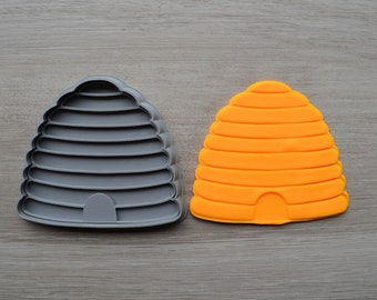 Bee Hive Cookie Fondant Cutter & Stamp Fondant