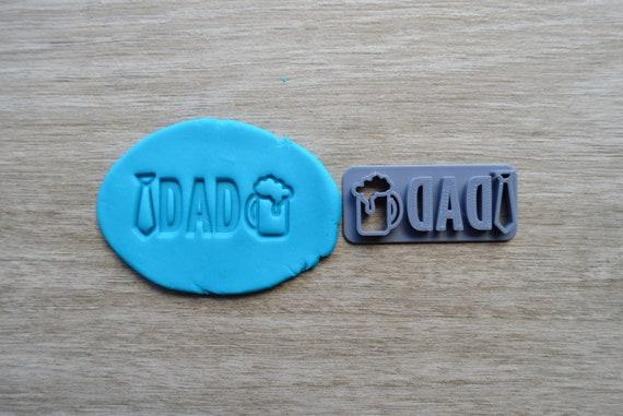 Dad Imprint Cookie/Fondant/Soap/Embosser Stamp