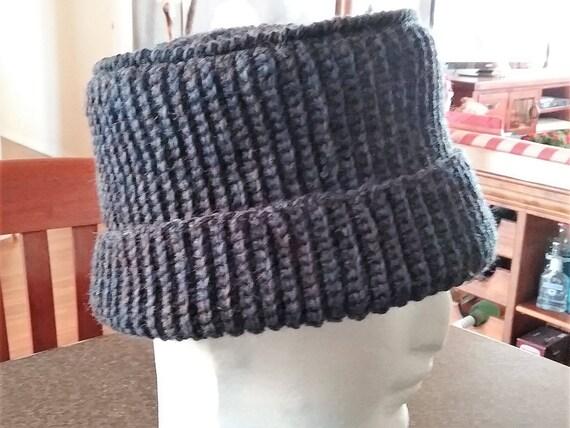 Aa Mens Unisex Funky Kufi-Style Pull-OnHat Pure Wool Crochet  070848e70d0