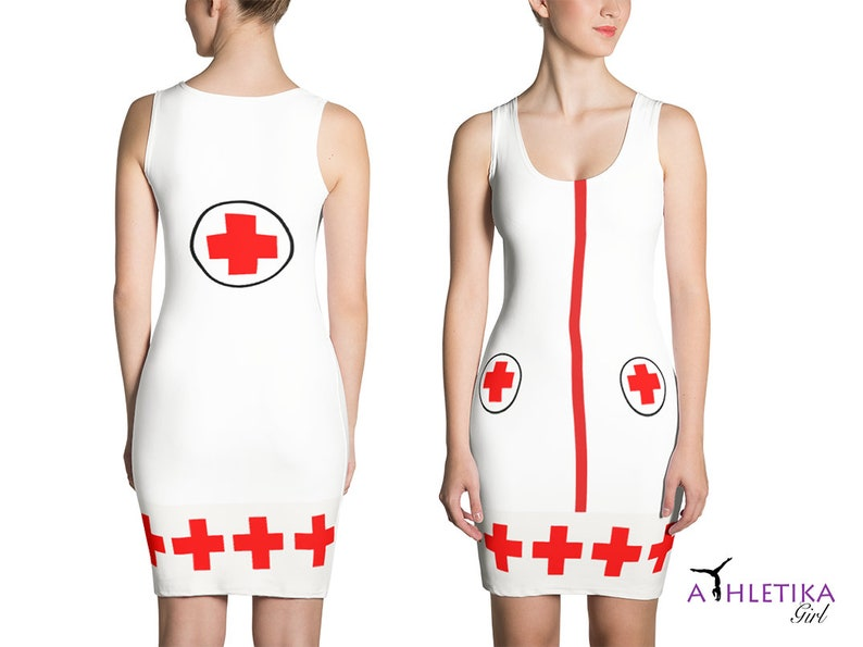 5ad3eaef85816 Sexy Nurse Dress Halloween Costume Cosplay Woman Outfit | Etsy
