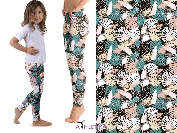 Palms Matching Mommy Me Leggings Outfit Mother Daughter  8b885230f
