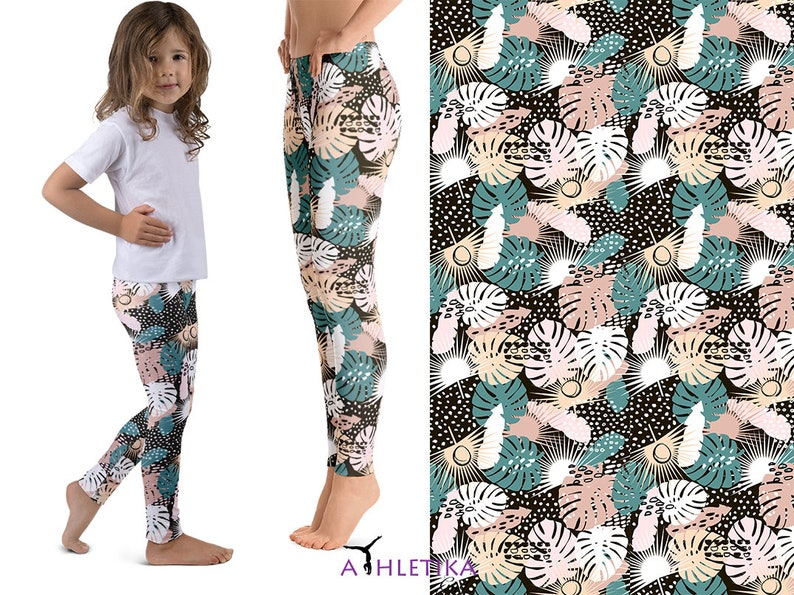 5384d6d7d9 Palms Matching Mommy Me Leggings Outfit Mother Daughter