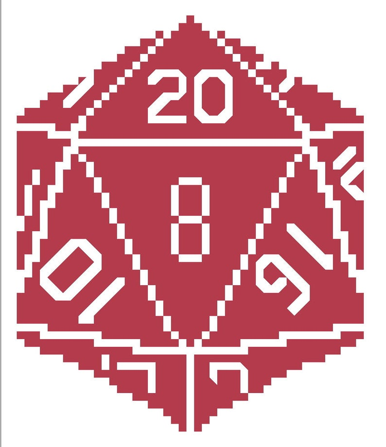 c24fc3801be D20 With Numbers 20 Side Up Dice for D D Dungeons and