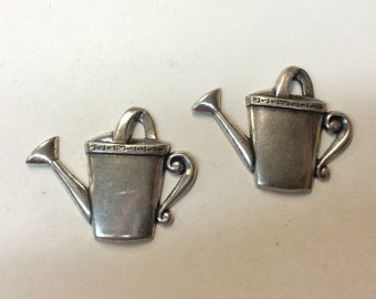 Stamping - Silver Watering Can - Set of 2