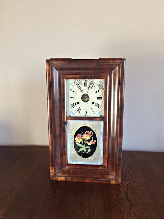 Design Standuhr Pendel Antike | Antike Jerome Co 30 Stunden Jerome Wand Uhr Pendel Uhr Etsy