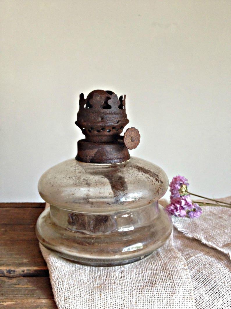 Ancienne Lampe A Petrole Francais Lampe A Huile Vintage Etsy