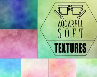 Aquarell Soft - 491 Aquarell Texturen
