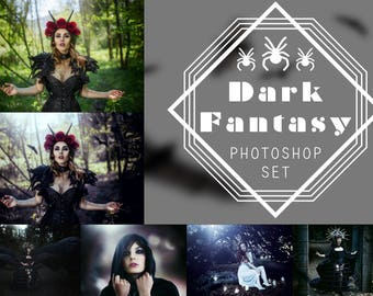 Photoshop Set - Dark Fantasy