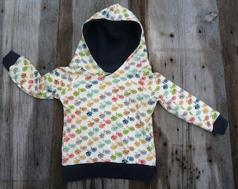 Organic baby hoodie, bicycle baby clothes, baby coming home outfit, organic baby clothes, winter baby clothing, leggings, baby boy gift