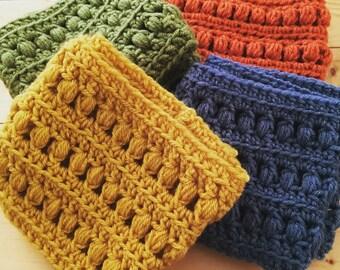 Textured Crochet Cowl
