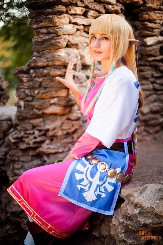 The Legend Of Zelda Skyward Sword Handmade Cosplay Costume Custom Order