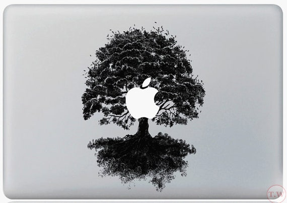 MacBook Tree With Birds Sticker Decal For MacBook Pro Air All Sizes Tree Decal