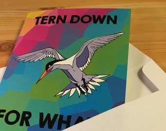 Tern Down For What?! Party Invite/Greeting Card